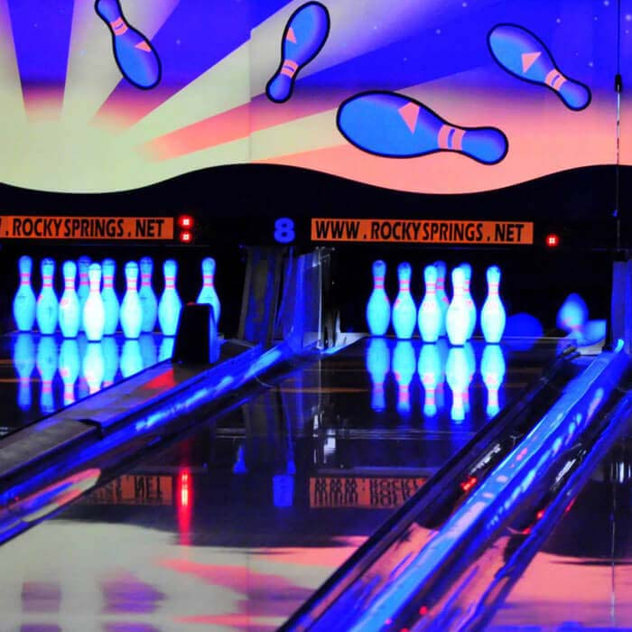 Glow Bowling in Lancaster
